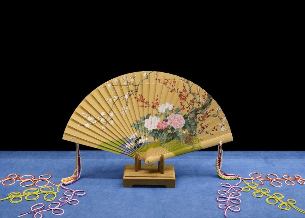 ©  Miyawaki Baisenan , Sensu Folding Fan