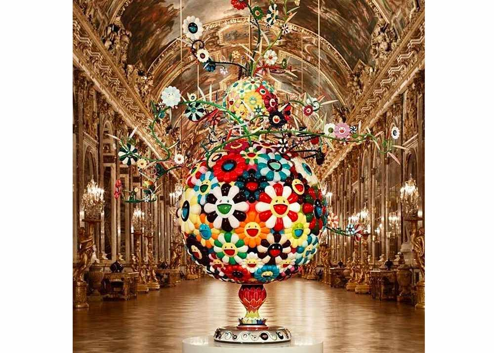 © Takashi Murakami, Flower Matange at the Palace of Versailles