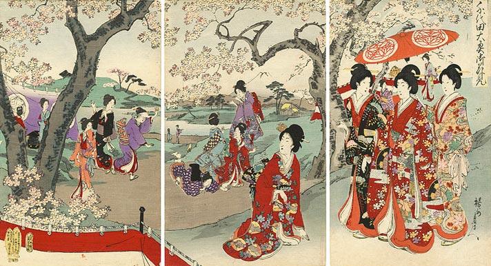 Ukiyo-e print from the Collection of Yamada Shoten