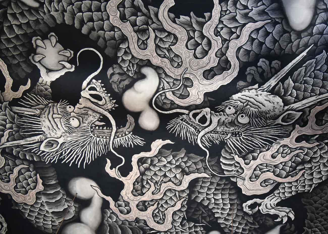 © Japan Objects, Dragon at Kenninji Temple