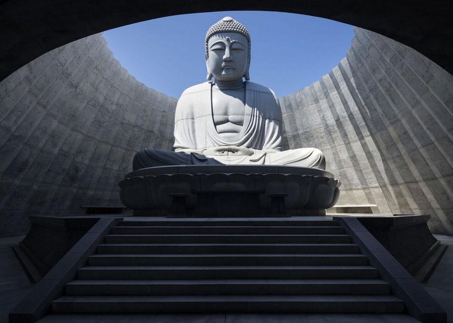 © Shigeo Ogawa, The Hill of the Buddha Prayer Hall by Tadao Ando, 2016