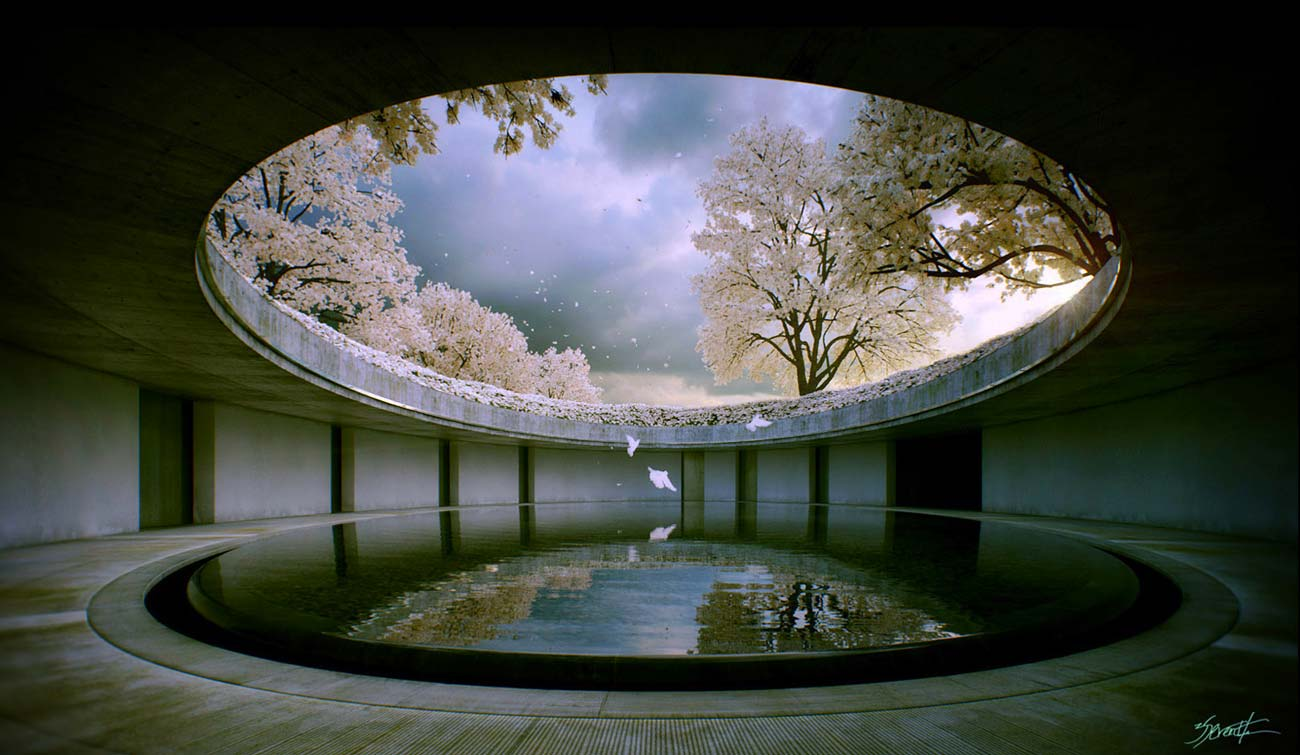 © Alex Roman, Chichu Art Museum, Naoshima, from his book   From Bits to the Lens