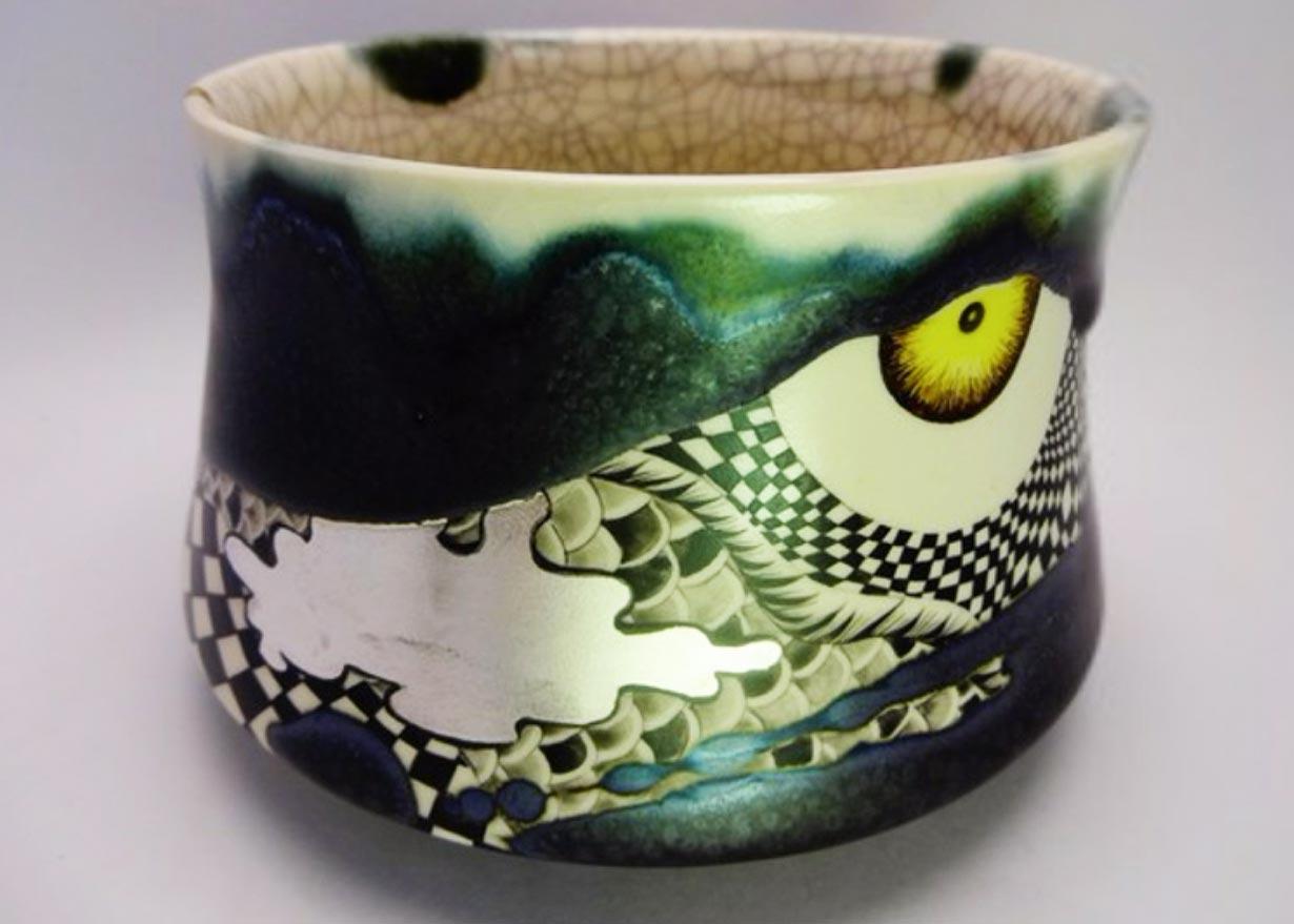 ©  Kayoko Mizumoto , Nightfall, Ceramic Bowl