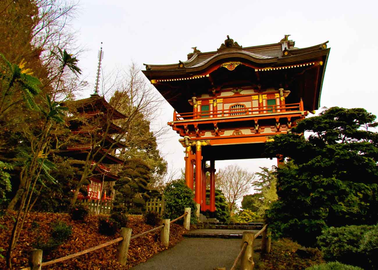 ©  Jeff Gunn  /  Creative Commons , Japanese Tea Garden, San Francisco