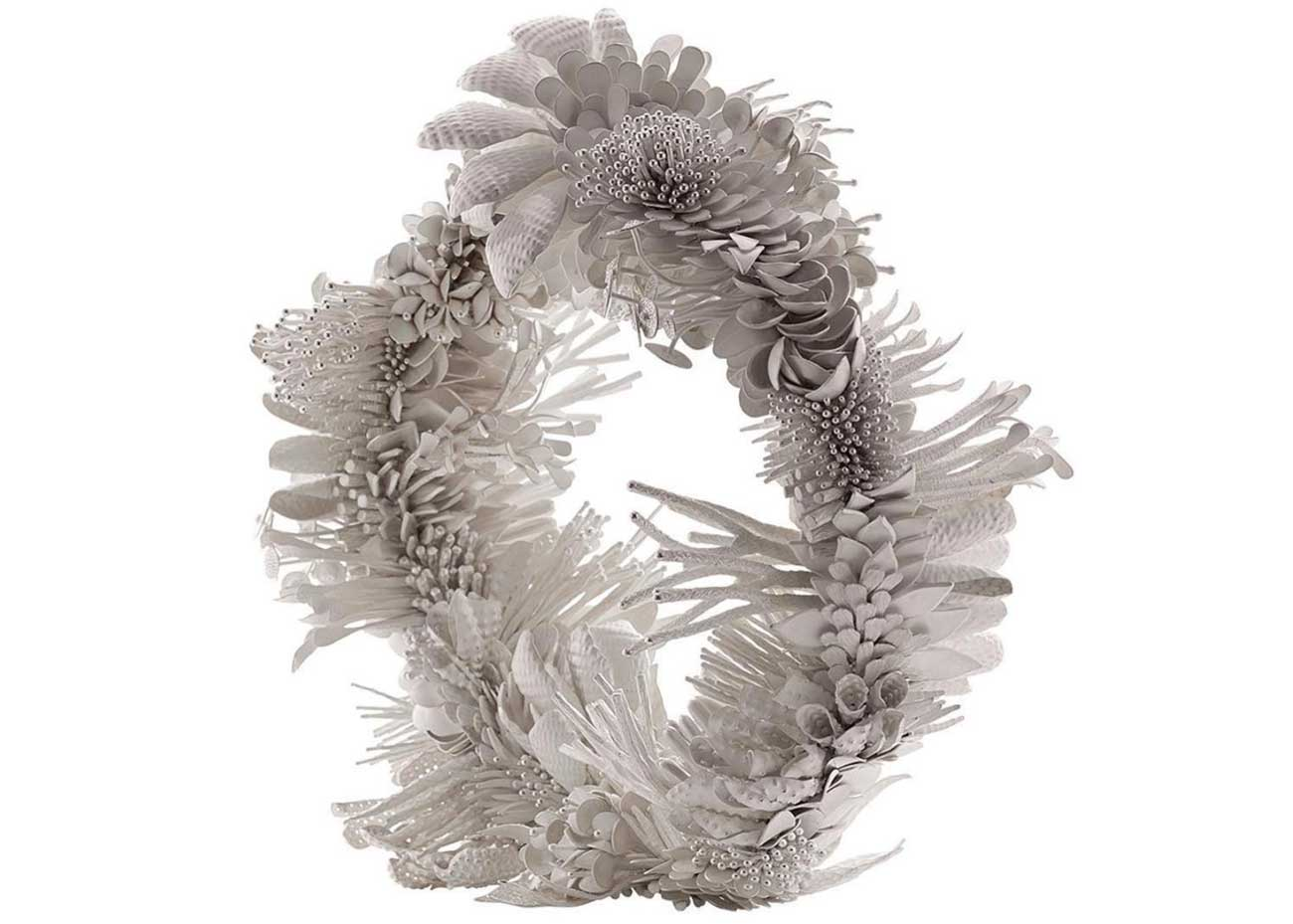 © Junko Mori, Silver Poetry; Spring Fever Ring, at  Adrian Sassoon