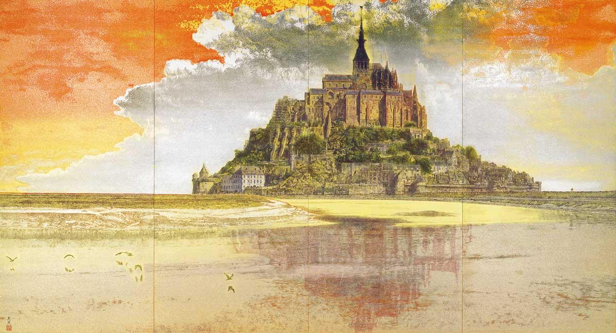 © Yoshihiro Shimoda, Mont Saint-Michel, 2000