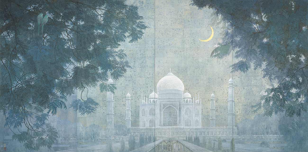 ©Shun'ei Nishida, Taj Mahal, 2001