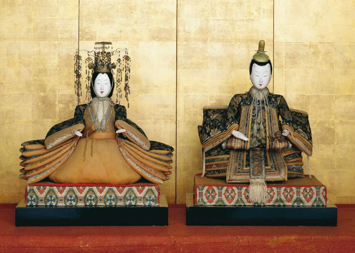 Emperor and Empress Dolls,  Kyoto National Museum
