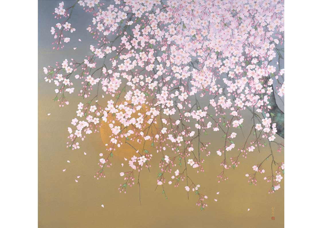 © Rieko Morita, Sakura Moon Night, 2012. All rights reserved.