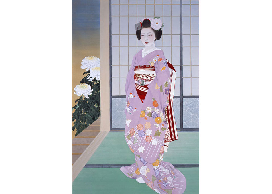 © Rieko Morita, Maiko (Chrysanthemum Season), 2001. All rights reserved.