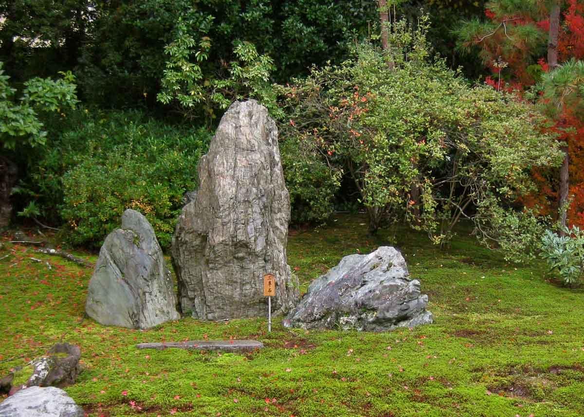 © Anika Ogusu, Real Japanese Gardens, Stone Triad
