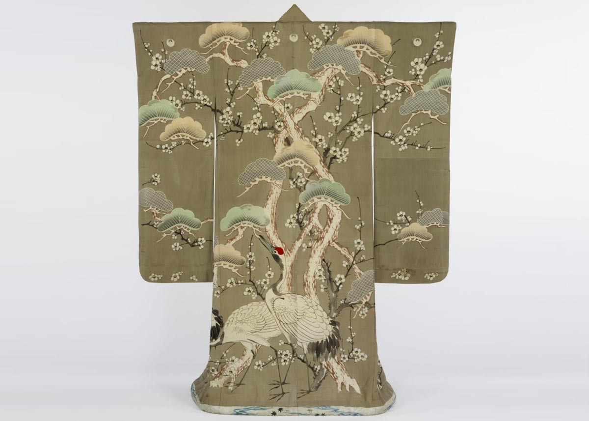 Dyed and Embroidered Kimono, from the  V&A Museum