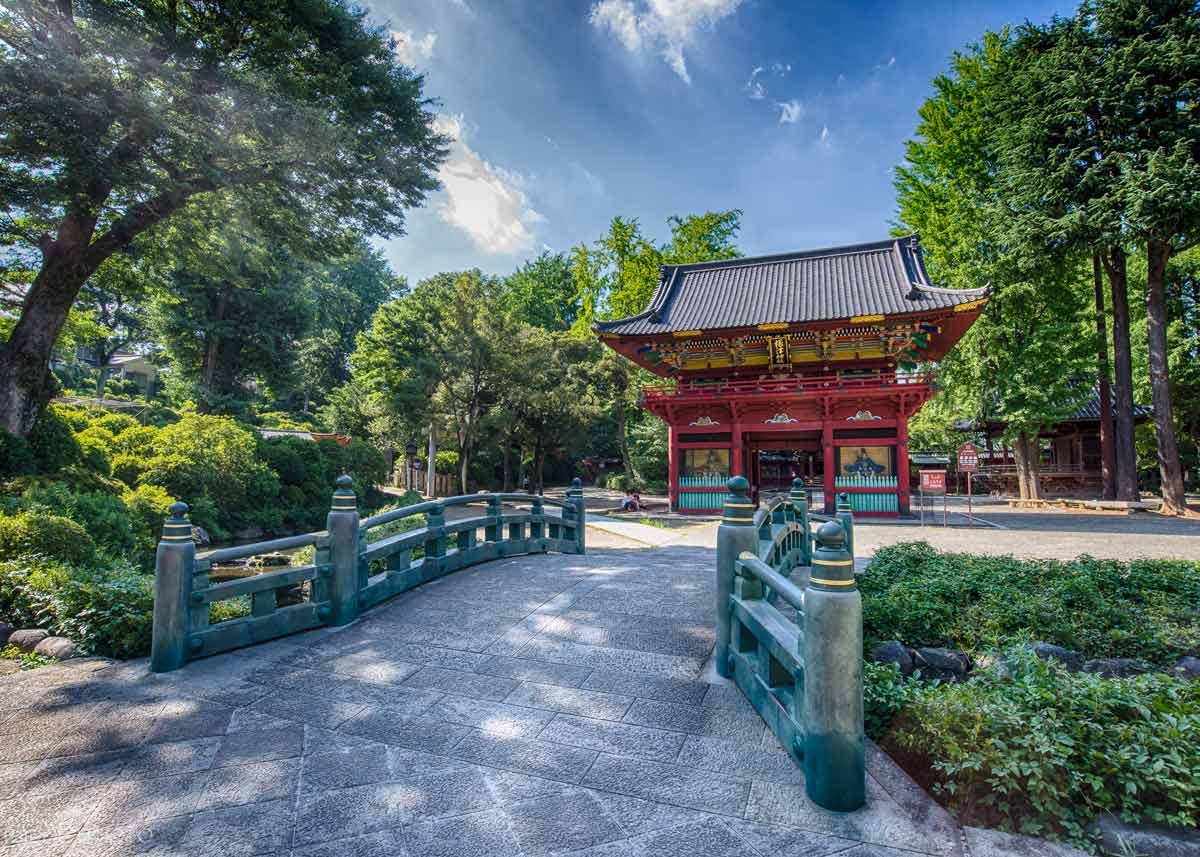 ©  Wei Shi-Hang  / Flickr Creative Commons, Nezu Shrine