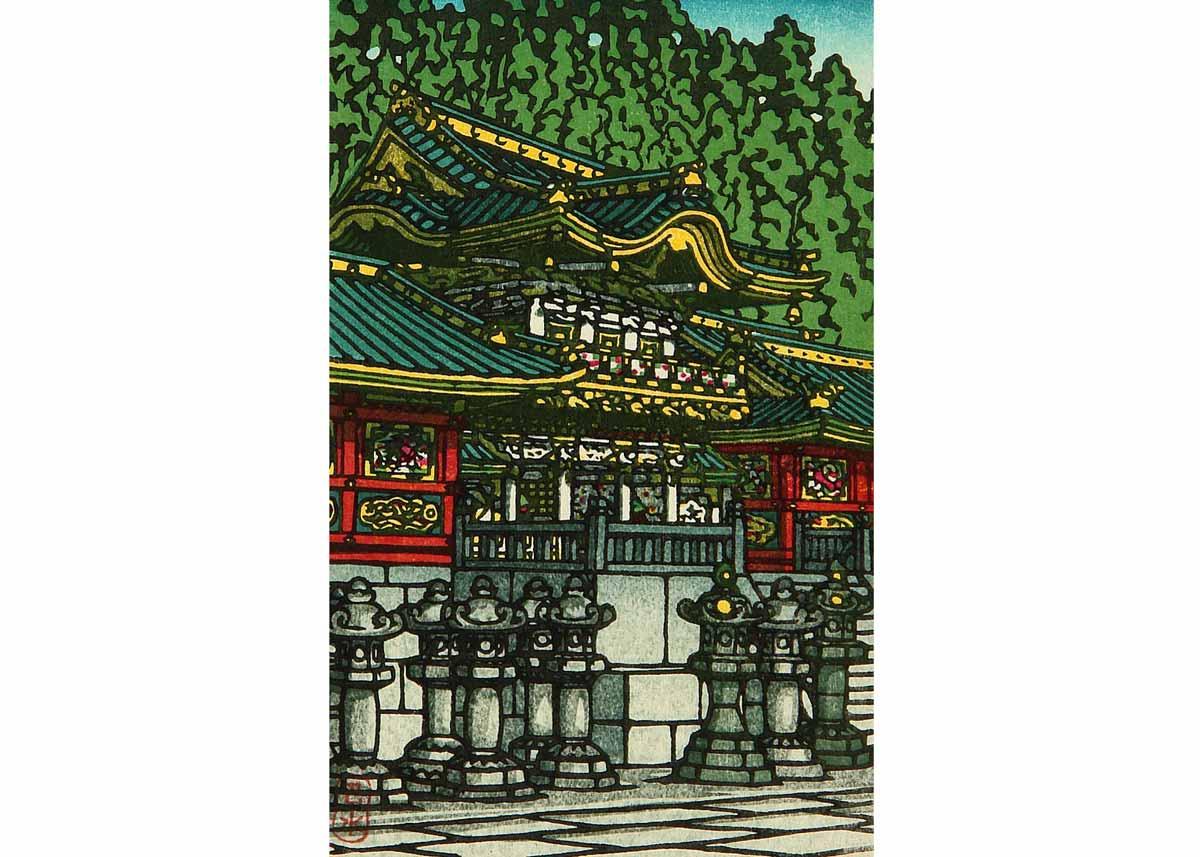 © Hasui Kawase, Toshogu Shrine, 1930