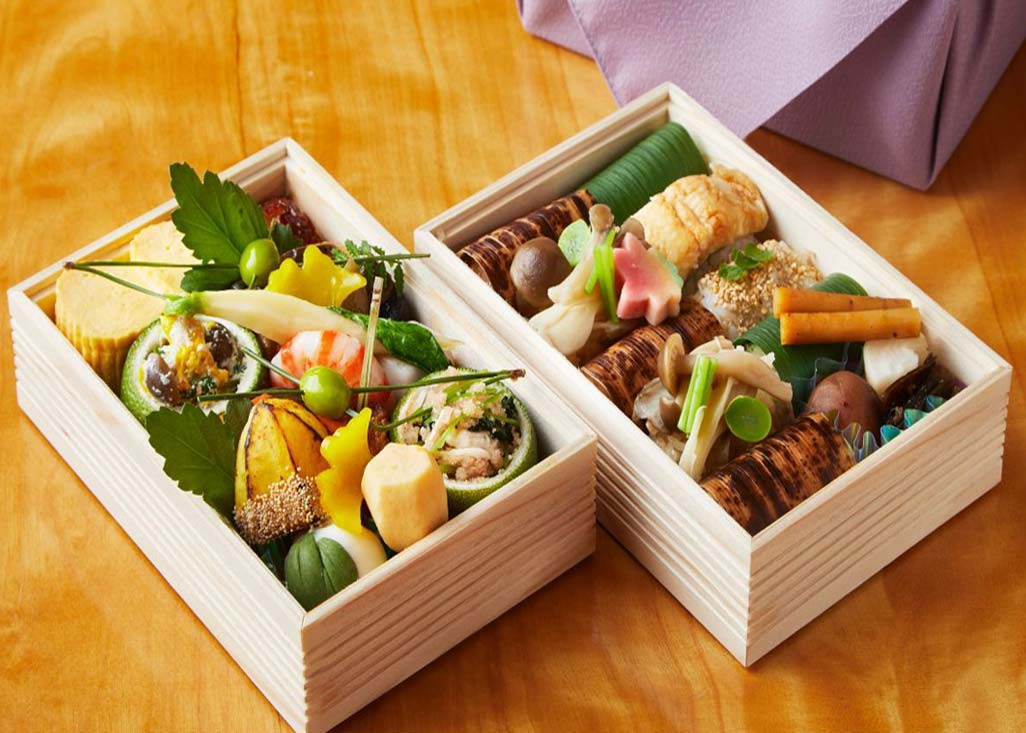 © Bento Boxes from  The Hyatt Kyoto