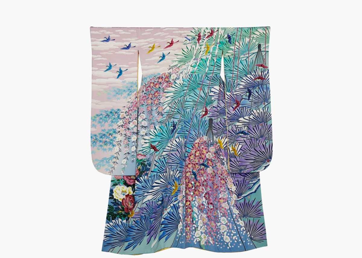 ©  Kaga Yuzen Kimono Center , Kimono by Kenji Maida