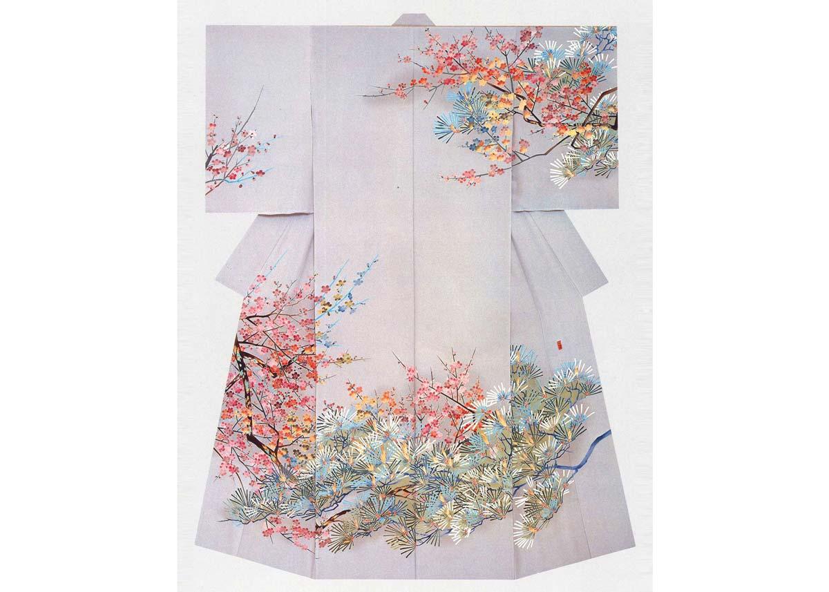 ©  Kaga Yuzen Kimono Center , Kimono by Akehito Inade