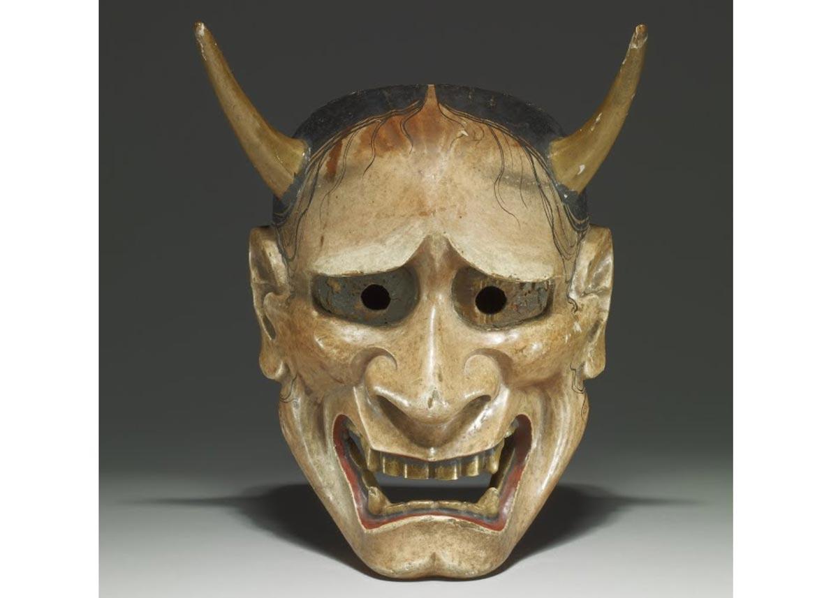 Hannya Noh Mask, 18th Century,  British Museum