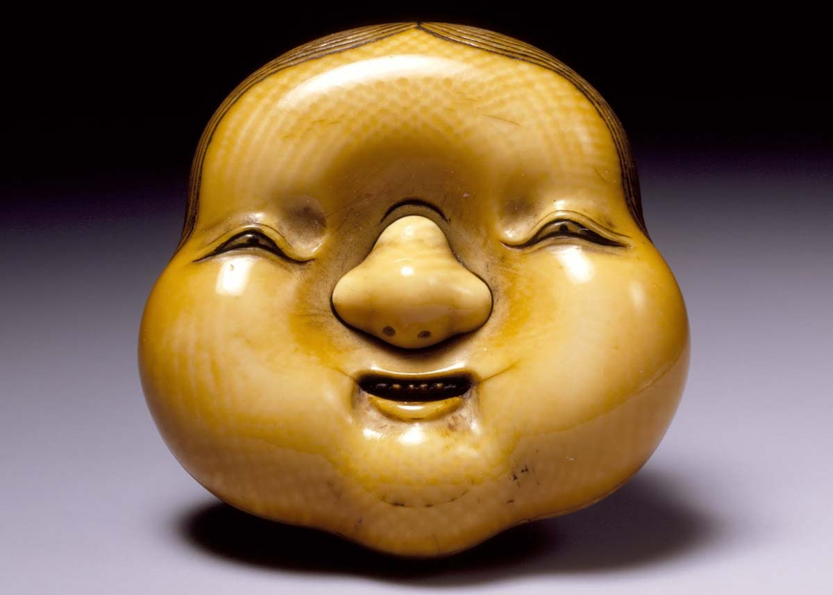 © Ivory Okame Mask, 19th Century,  LACMA