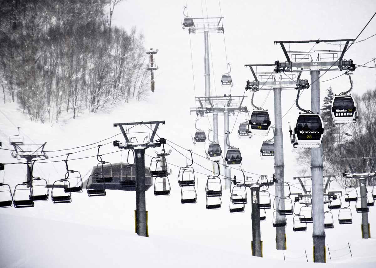 ©  Chris Barns  /  Creative Commons , Niseko Ski Lift