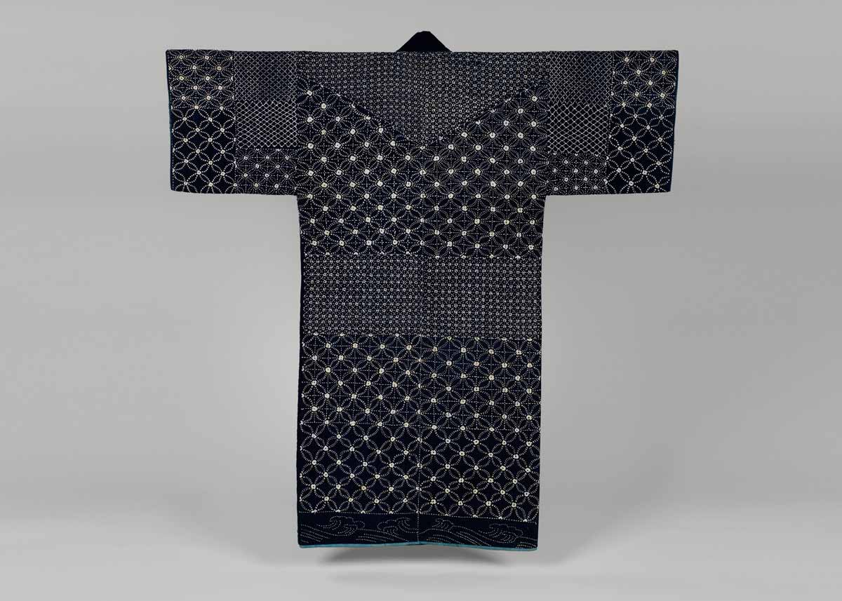 Indigo-Dyed Sashiko Jacket, Early 19th Century,  Met Museum