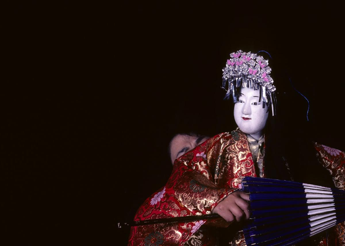©  Moritaro Hamada , Bunraku Puppets,  Maisons des Cultures du Monde