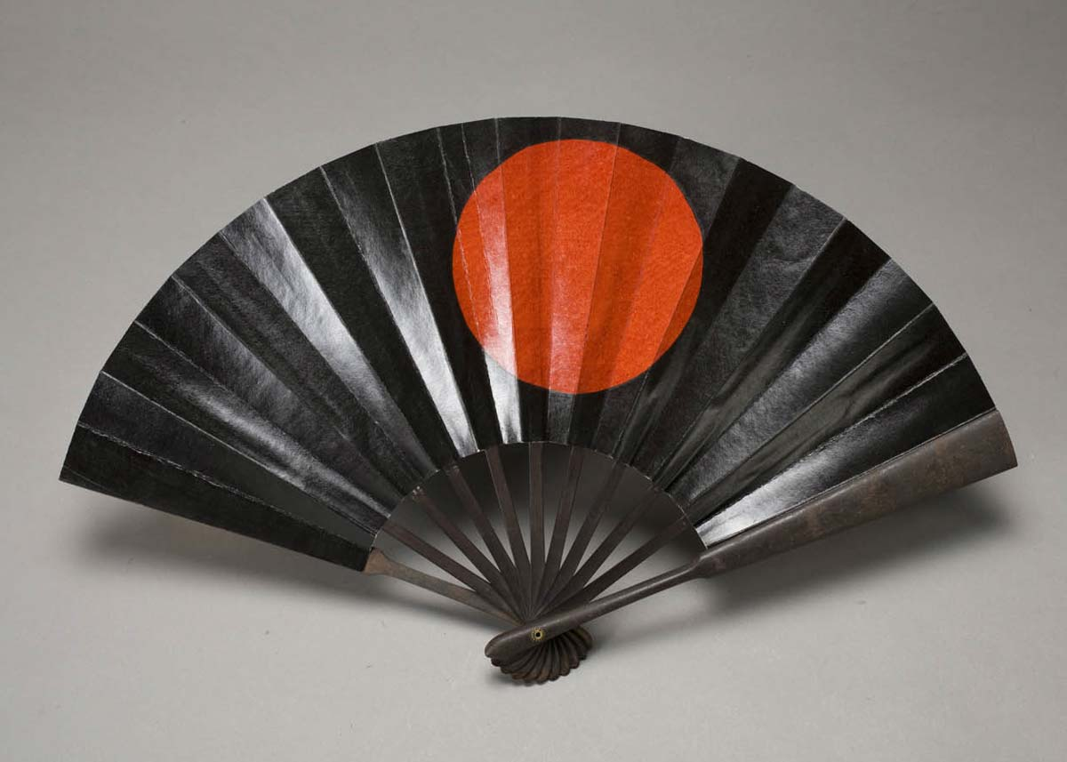 Gunsen War Fan,  Asian Art Museum