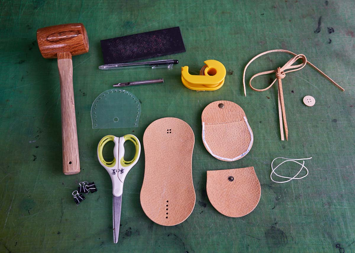 © Matt Vachon, Make Your Own Leather Coin Pouch
