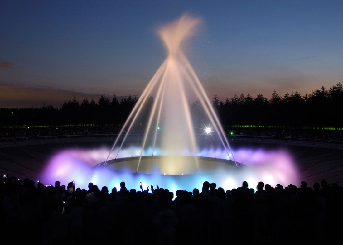 ©  Sapporo Travel , Sea Fountain