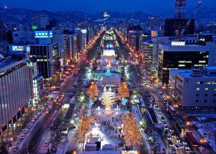 © Sapporo Travel, Festival de Neve de Sapporo em Odori Park