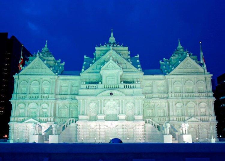 © Sapporo Travel, Palácio da Neve