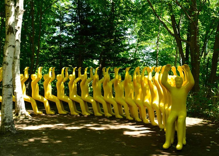 © Sapporo Travel, Jardim de esculturas de Sapporo Art Park
