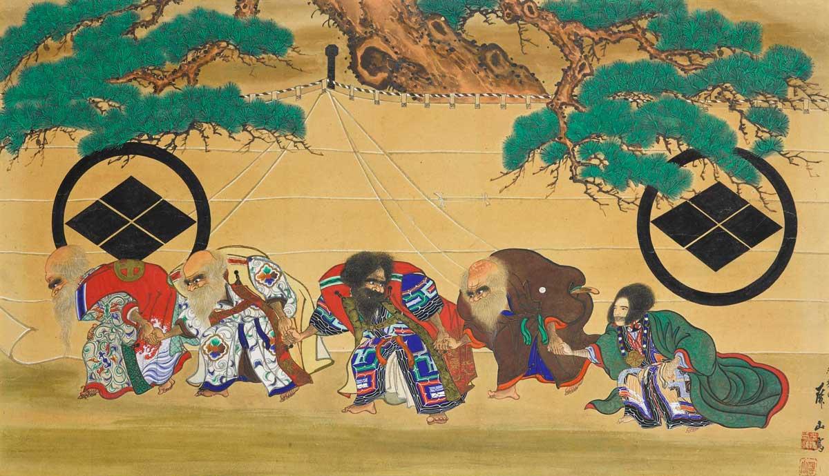 Ainu Uimamu by Hirasawa Byozan, 1867