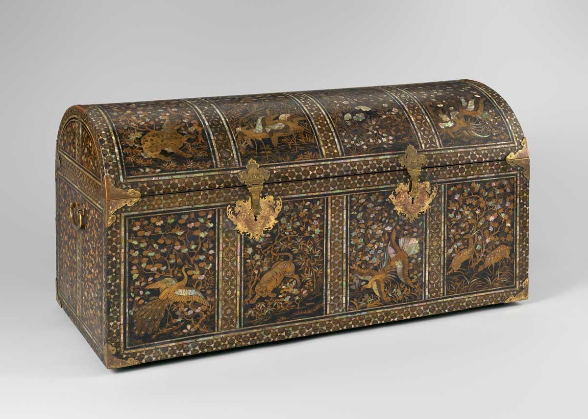 Nanban Coffer, 17th Century,  The Met Museum