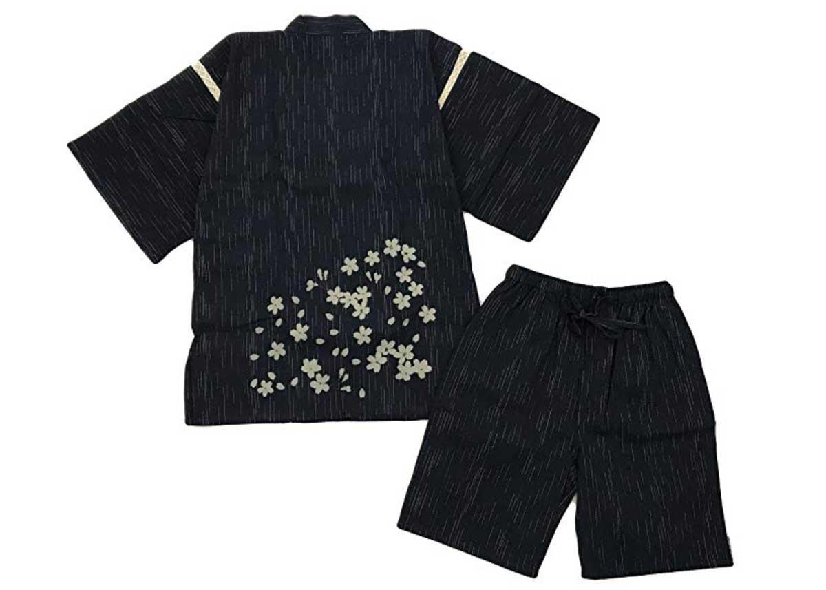 Cotton Floral Jinbei by Edoten