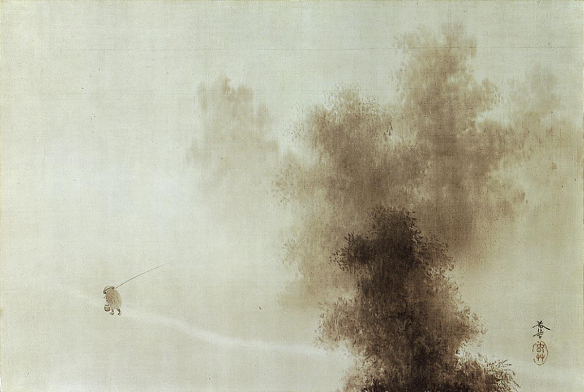 Return from Fishing by Shunzo Hishida, 1901, Museum of Modern Art, Ibaraki.