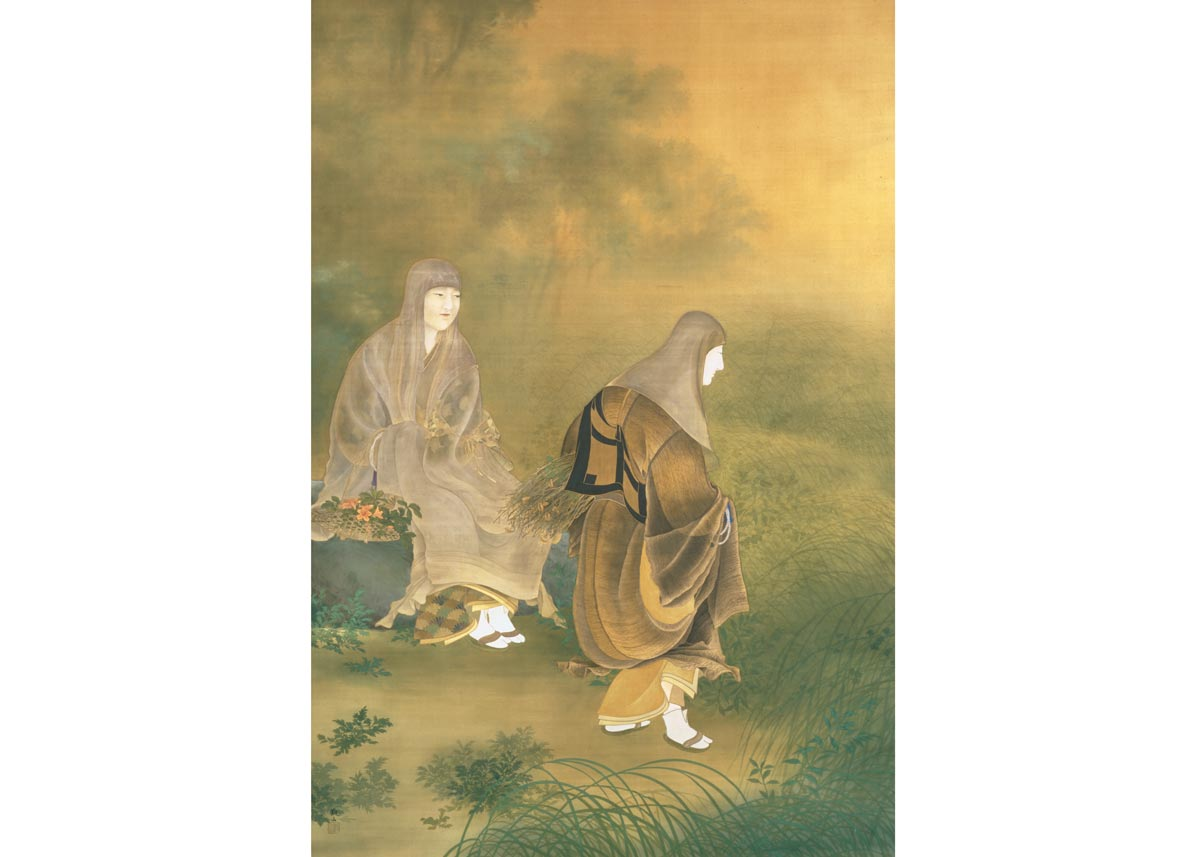Dew Drops at Ohara from The Tale of Heike by Kanzan Shimomura, 1900 Museum of Modern Art, Ibaraki