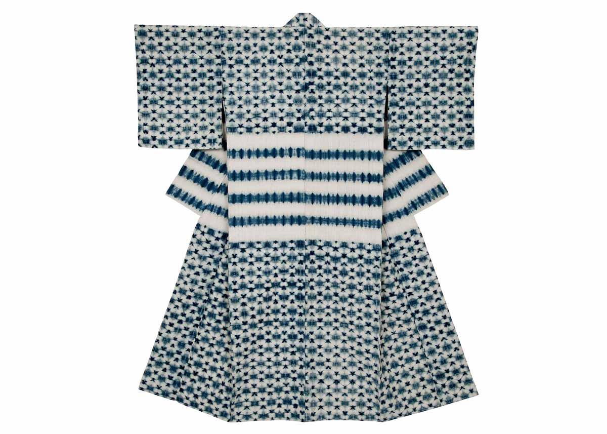 ©  Japan Folk Crafts Museum , Shibori Kimono by Motohiko Katano