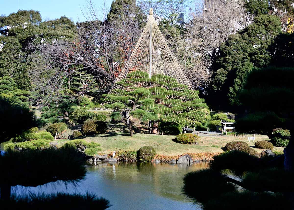 © Kiyosumi Garden, A Miniature Mount Fuji