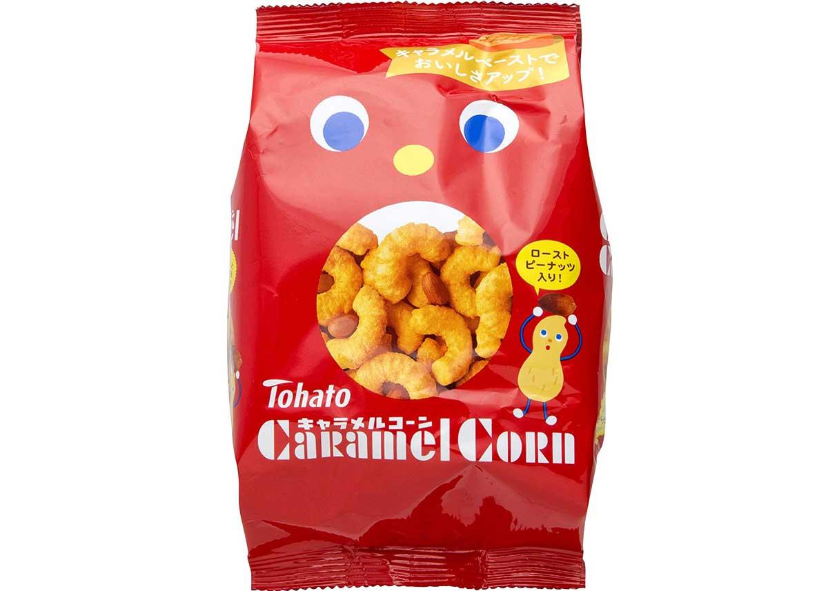 Caramel Corn Chips