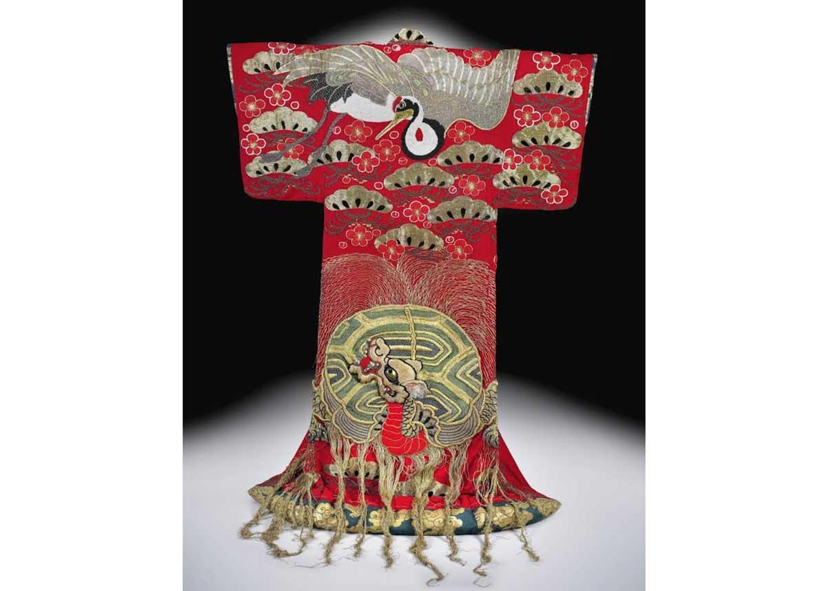 ©  Peabody Essex Museum , Uchikake Kimono for Kabuki, 19th Century