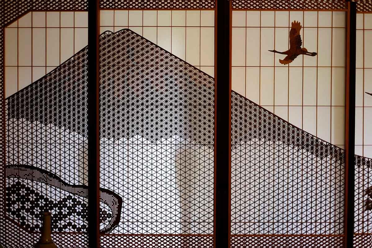 ©  M Murakami  /  Creative Commons , Shoji Lattice