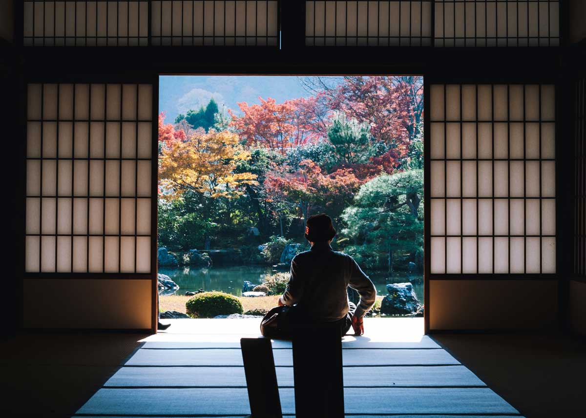Image by  Masaaki Komori  / Creative Commons, View of a Temple Garden