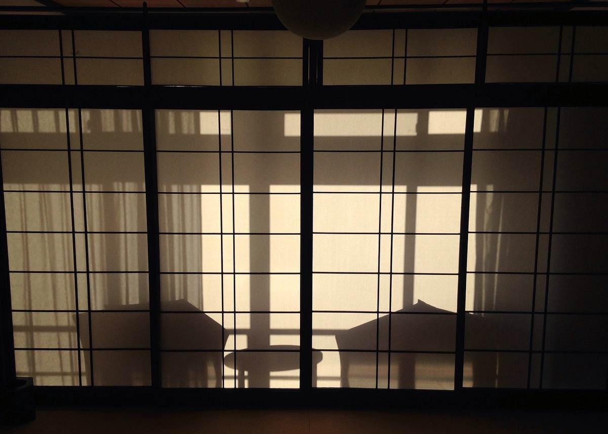 Image by  Julian Caruso , Shoji Evening Silhouette