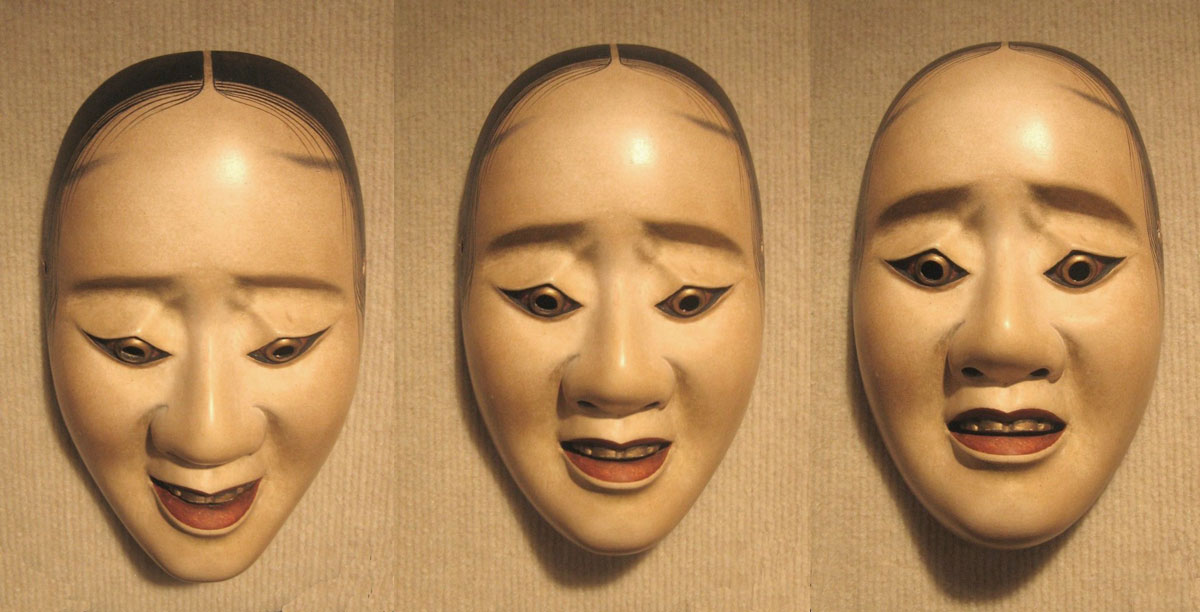 Noh Mask Expressions