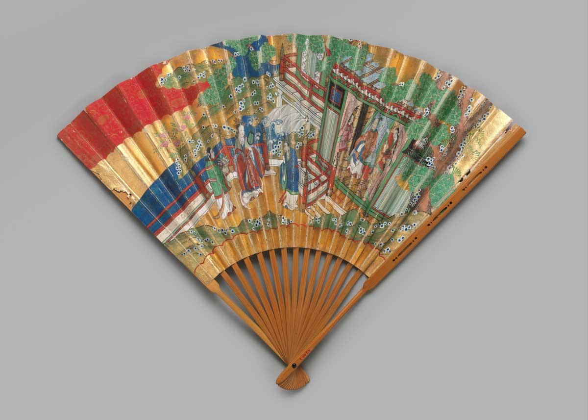 Noh Chukei Fan, the  Met Museum