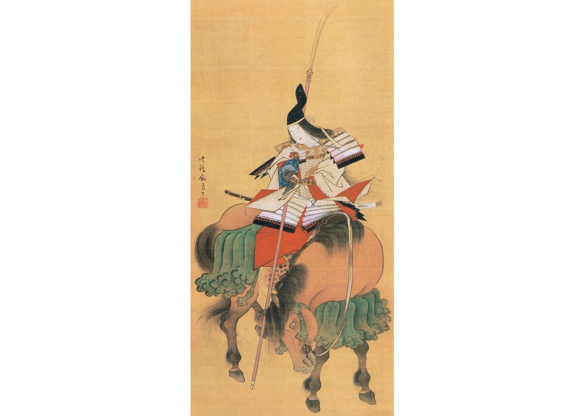 Tomoe Gozen by Shitomi Kangetsu, Late 18th Century