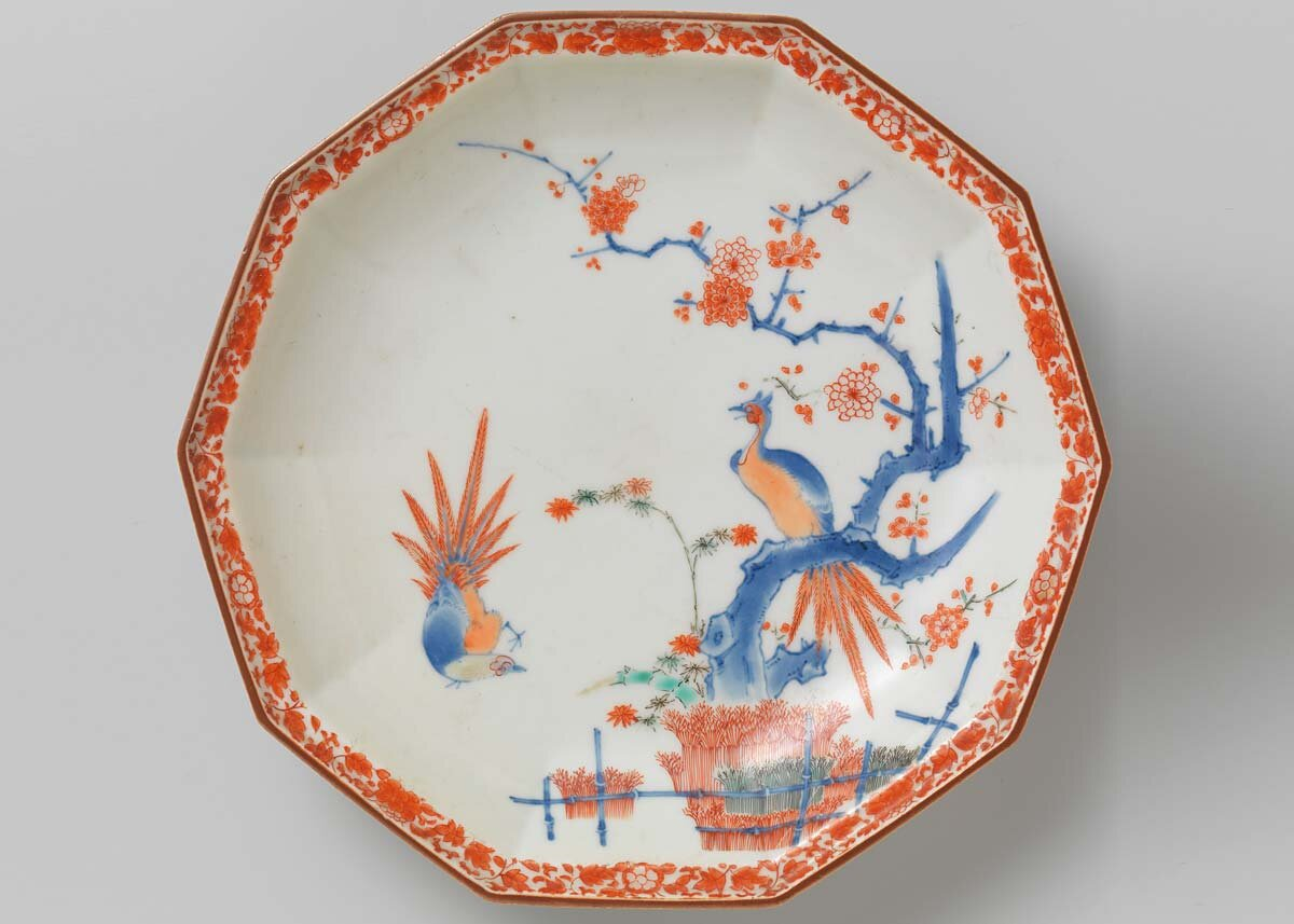 Kakiemon Plate, Late 17th Century