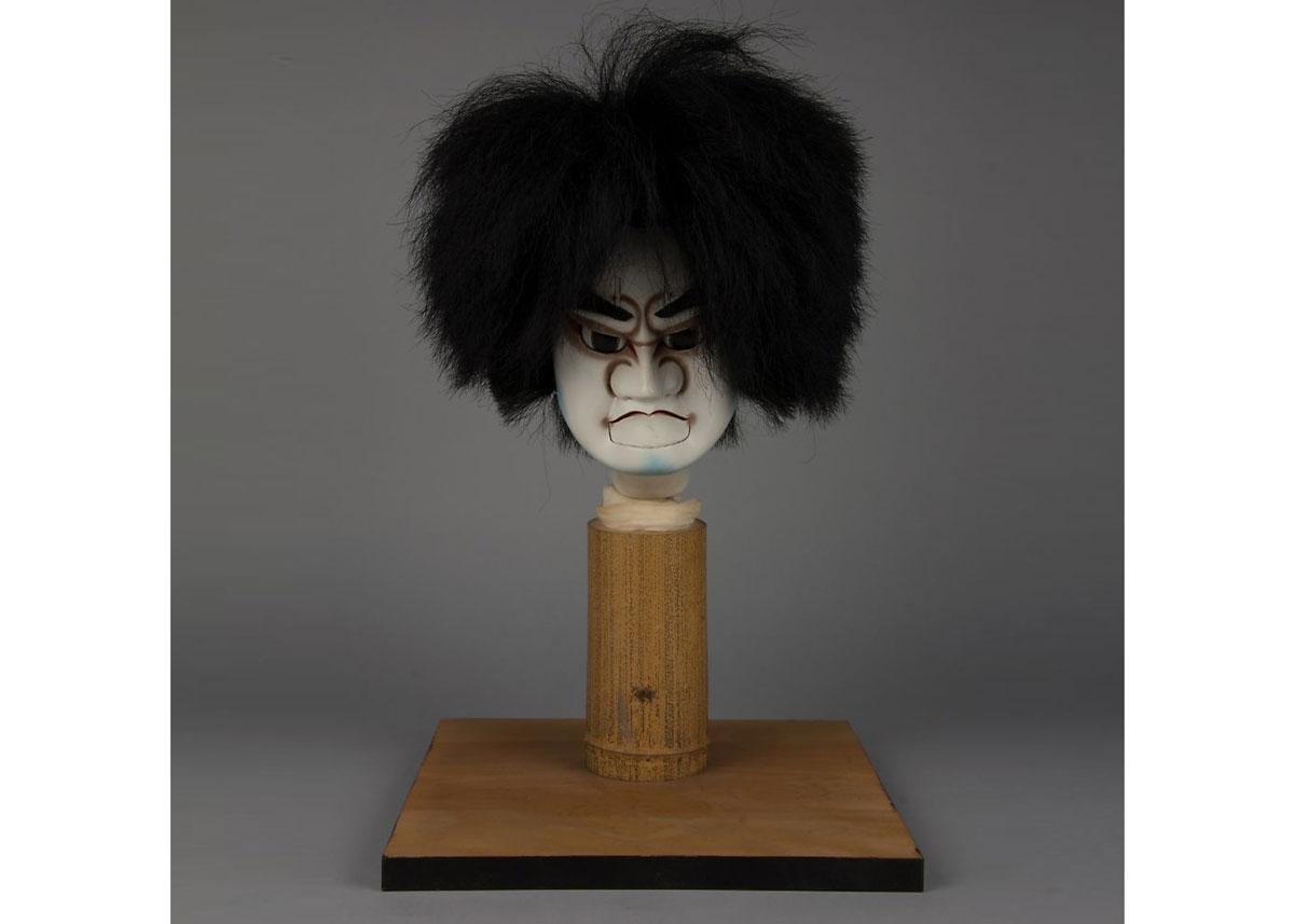 Bunraku Puppet Head, 19th Century,  the Met Museum