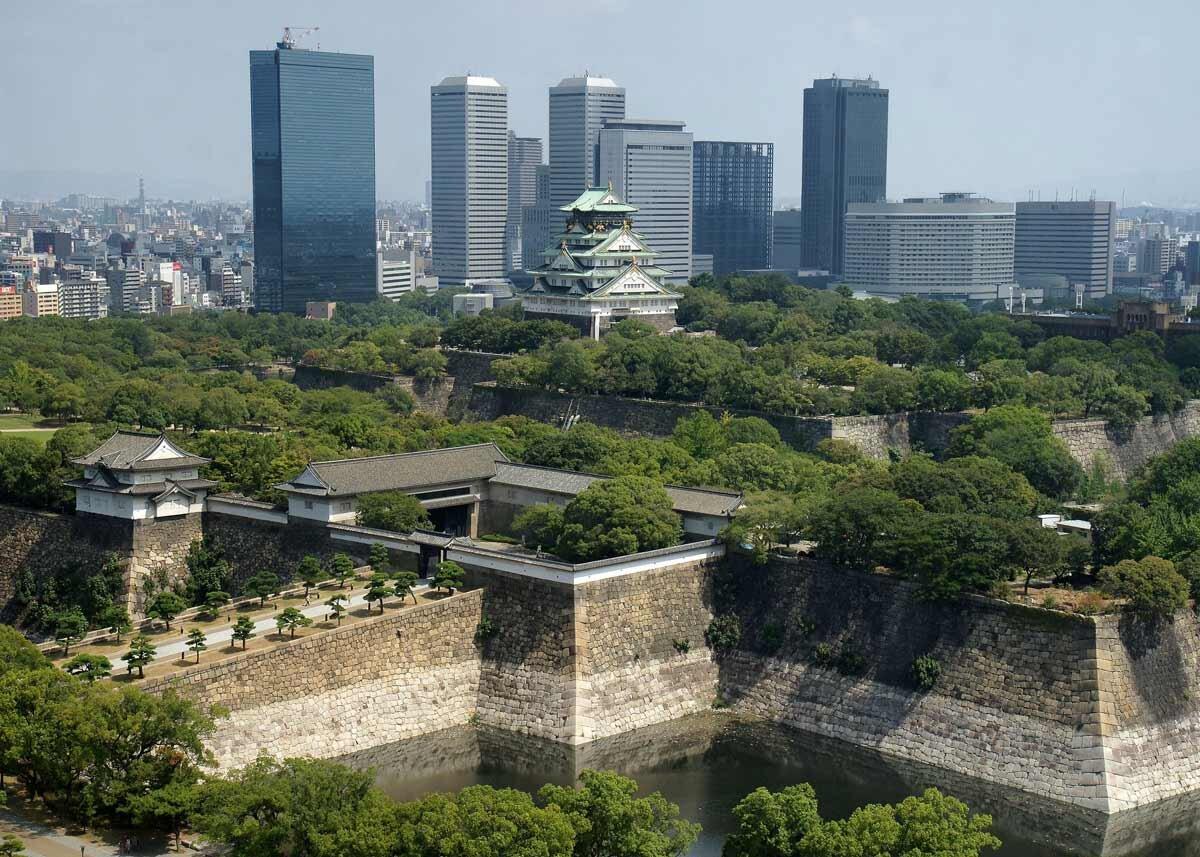 ©  663highland  /  Creative Commons , Osaka Castle